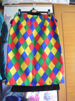 Harlequin Skirt by avoiding-you