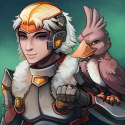 Gavin Bust Commission by RinTheYordle