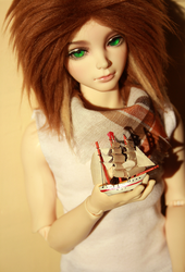 I'd sail ships for you by Faderica