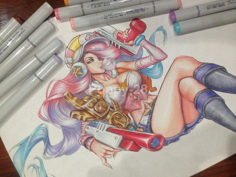 Arcade Miss Fortune by Poppy-28