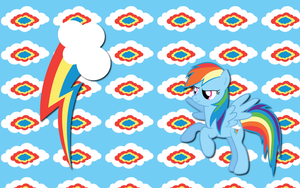 Rainbow Dash wallpaper 6 by AliceHumanSacrifice0
