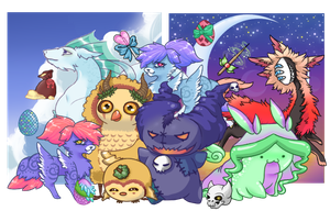 Pet Game Sample by CloverWing