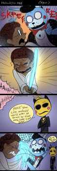 FNAF Hallowe'en 3: Use the Force, Young Fitzgerald by Atlas-White
