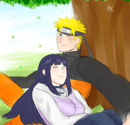NaruHina by TransformiceGurl
