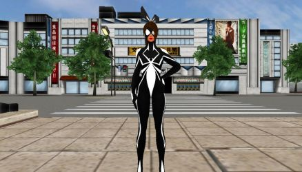 Spider Bunny Girl by Stylistic86