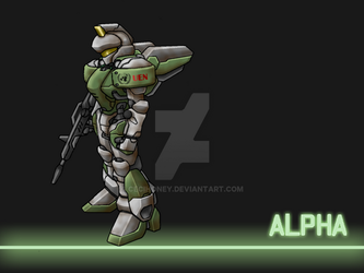 Alpha wallpaper by Cecihoney