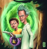 Rick and Morty by thegameworld