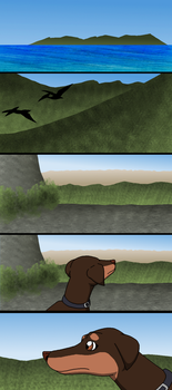 Dogs of the Hidden World:Chapter 1:Page 1 by PandaFilmsG