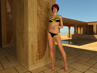 DAZ3D Ginger Egypt Lux by g00fy1