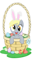 Easter Derpy by TechRainbow