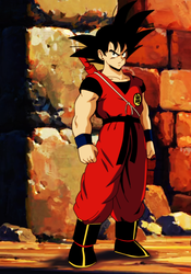 SON GOKU by salvamakoto