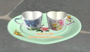 XPS Model - Couples Cups by ladystarkennedy