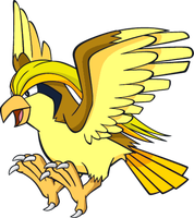 Shiny Pidgeot Global Link Art by TrainerParshen