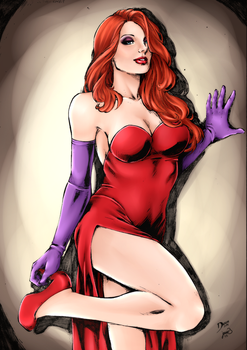Jessica Rabbit by Sorathepanda