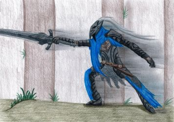The Abysswalker (Art Trade) by MyrielLachance