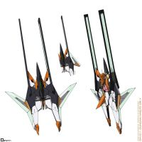 GN-011 Gundam Harute Ori.V - Fighter Mode by orihalchon
