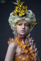 Effie Trinket - The Hunger Games 1 by Cheza-Flower