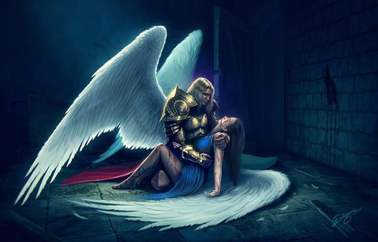 Angels Cry by Deligaris