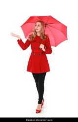 Rainy Days -  model stock reference 5 by faestock