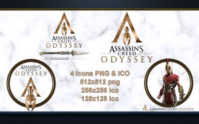 Icons Assassin's Creed Odyssey PNG and ICO by favorisxp