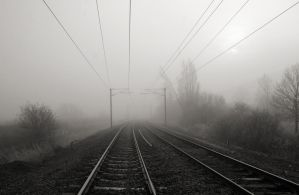 Foggy Tracks 1968322 by StockProject1