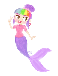 Pixielocks Mermaid by courtneymermaid