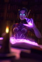 Tome by mystmantle