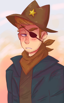 Sheriff Thompson by mork-a-boo