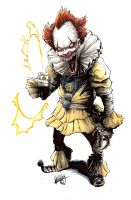 Pennywise/Sinestro Corps mashup by Shawn-Langley