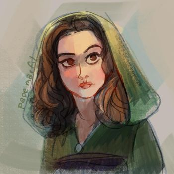 Star Wars Prequels - Padme by papelmarfil