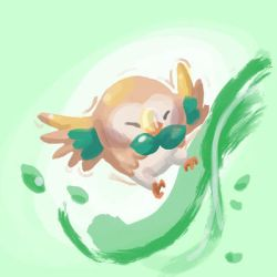 Rowlet by TisWenguin