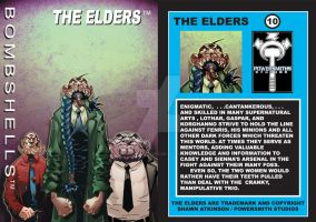 Elders card (front-Back) by ShawnAtkinson
