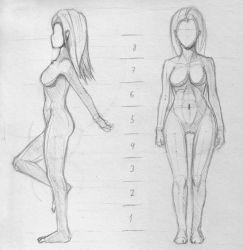 Another anatomy practice by ellaternura