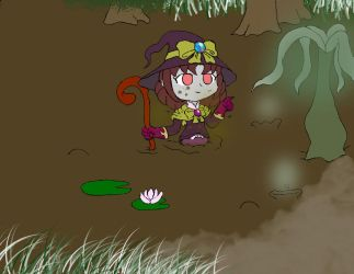 Zombie Witch by Basher-the-Basilisk