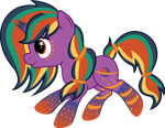 Rainbow Power Saturn Star by SpokenMind93