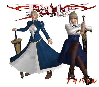 Fate Stay Night Saber by SSPD077 by SSPD077