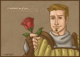 Alistair's Rose by WendyDoodles