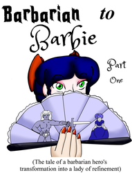 Book Cover: Barbarian to Barbie part one by Hipper-Reed