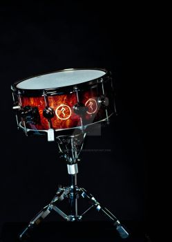 Snakes and Arrows DW Snare by digitalbrainbug