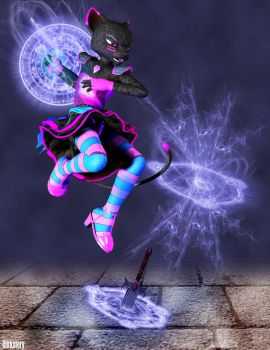 Magical Moshi by DarkStory