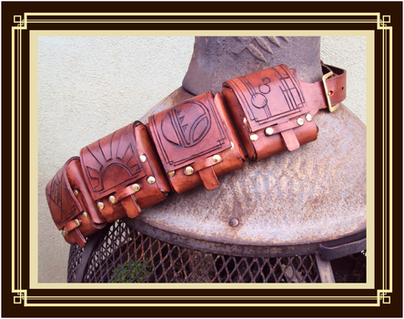 Steampunk Bandolier 2 by Isinglass-Industries