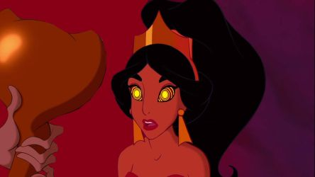 Jasmine and Jafar: Enslaved by hypnotica2002