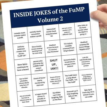 Inside Jokes Of The FuMP Volume 2 cover by artbylukeski