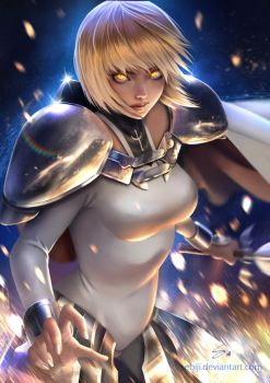 Clare (Claymore) by Sebiji