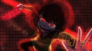 chara genocide route-I'll show you no MERCY!!!! by Roterszeng