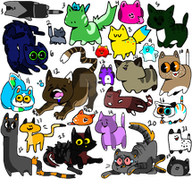 Cattos (Free/Super Cheap)(OPEN) by Pizza-and-Fandoms