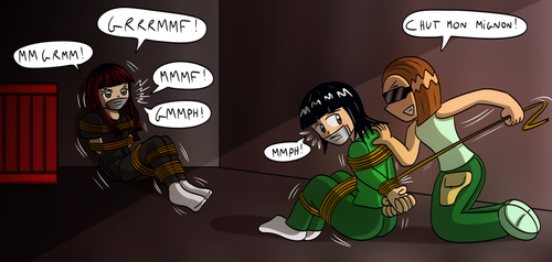 Commission : Kidnapping Duo by Gregory-GID-DID