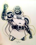 DR DOOM NYCC Commission by LucianoVecchio