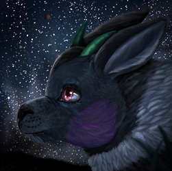 Warm night - Commission for ChillyPluto by Bleskobleska-Yandere