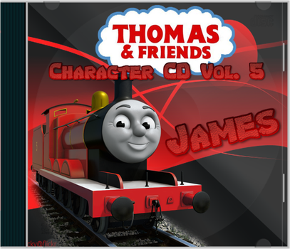 Thomas and Friends Character CD Vol. 5 James by Galaxy-Afro